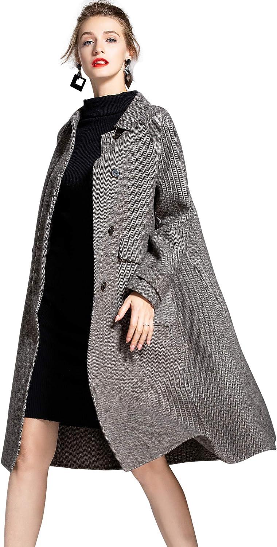 Gray wool coat Woman gray jacket Wool maxi coat Wool Jacket Hooded jacket Long Winter coat Woman hoodie Wool casual coatA1352