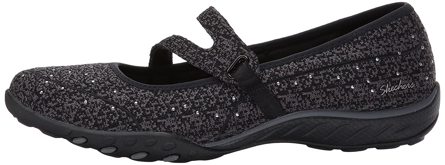 Skechers Sneaker Women's Breathe-Easy Charmful Fashion Sneaker Skechers B01MSJ76VP 5.5 B(M) US|Black 473ad7