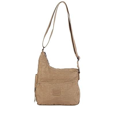6ee4df8c7 Artsac Womens Scoop Top Cross Body Bag Cross-Body Bag Beige (Beige ...