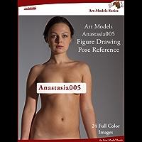 Art Models Anastasia005: Figure Drawing Pose Reference (Art Models Poses)