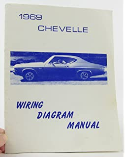 The 1969 Chevrolet Chevelle Ss Malibu El Camino Factory Assembly Instruction Manual Includes 300 Deluxe Malibu Ss Ss 396 Concours El Camino Convertibles 2 4 Door Hardtops Station Wagons And Super Sports