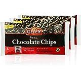 Gefen Vegan Semi Sweet Real Dark Chocolate Chips, Dairy Free 9oz (3 Pack),Nut Free, Lactose Free, Kosher, Great for Baking