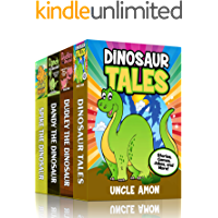 Dinosaur Tales Collection (4 Books in 1): 20 Short Stories, Fun Games, Hilarious Jokes for Kids, and More! (Fun Time Reader Bundle Book 5)