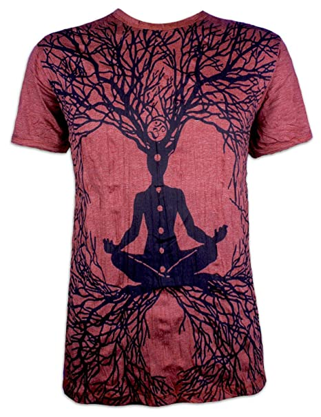 Sure Camiseta Hombre Wicca Art Gurú Talla ML XL Budismo Yoga Magia Alternativa Brujo Mago