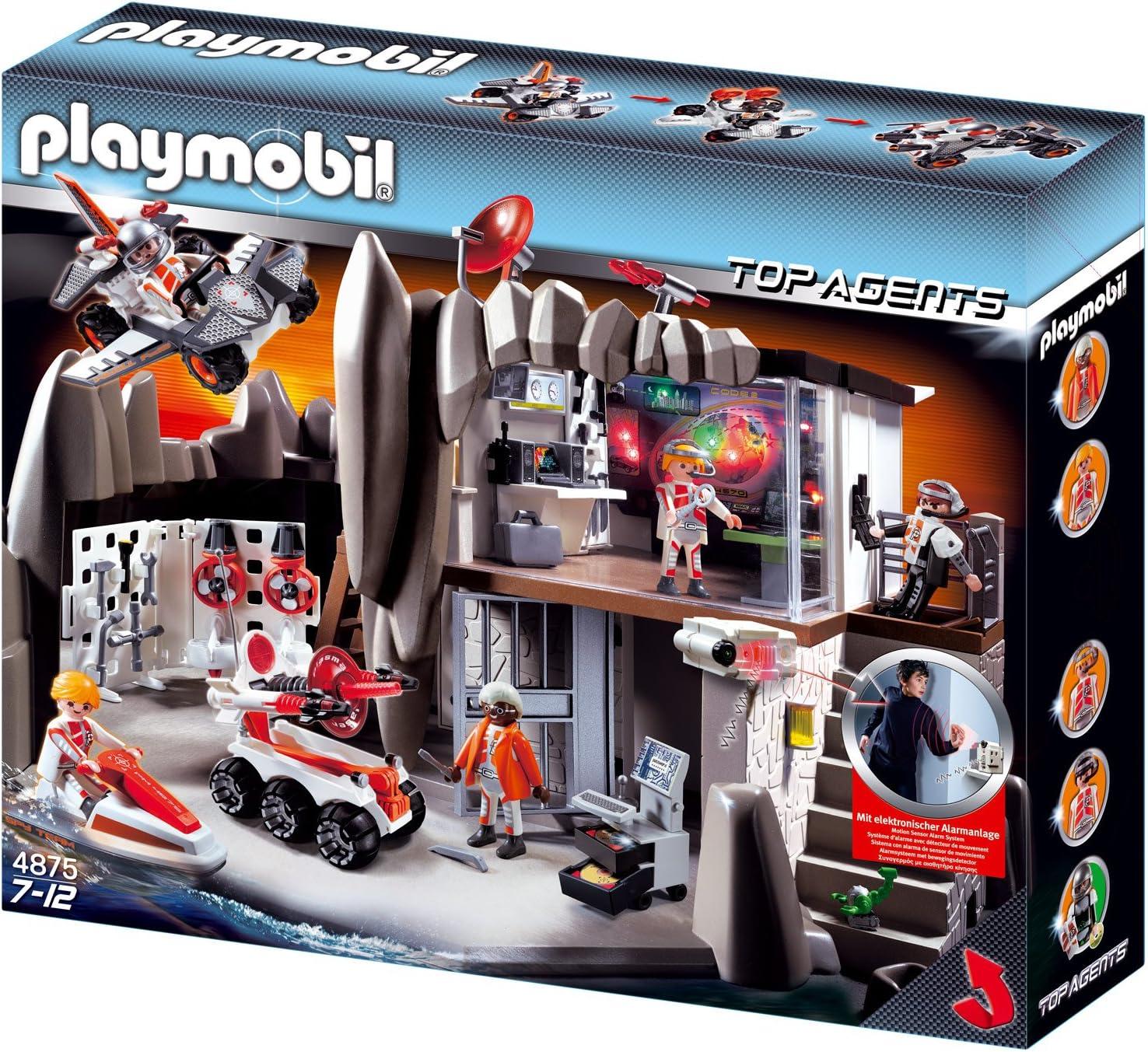 Playmobil 8 - Agenten-Hauptquartier mit Alarmanlage