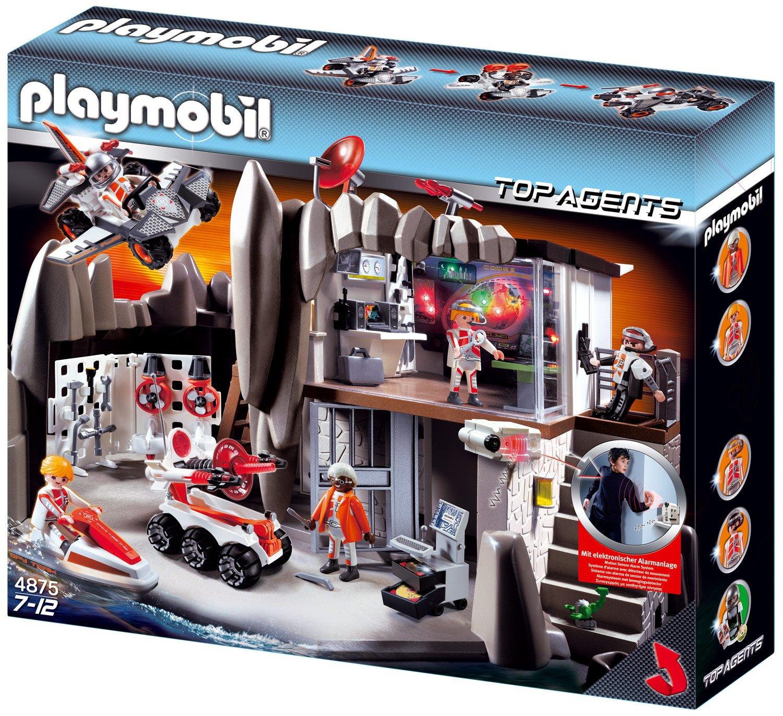 Playmobil 4875 - Agenten-Hauptquartier mit Alarmanlage