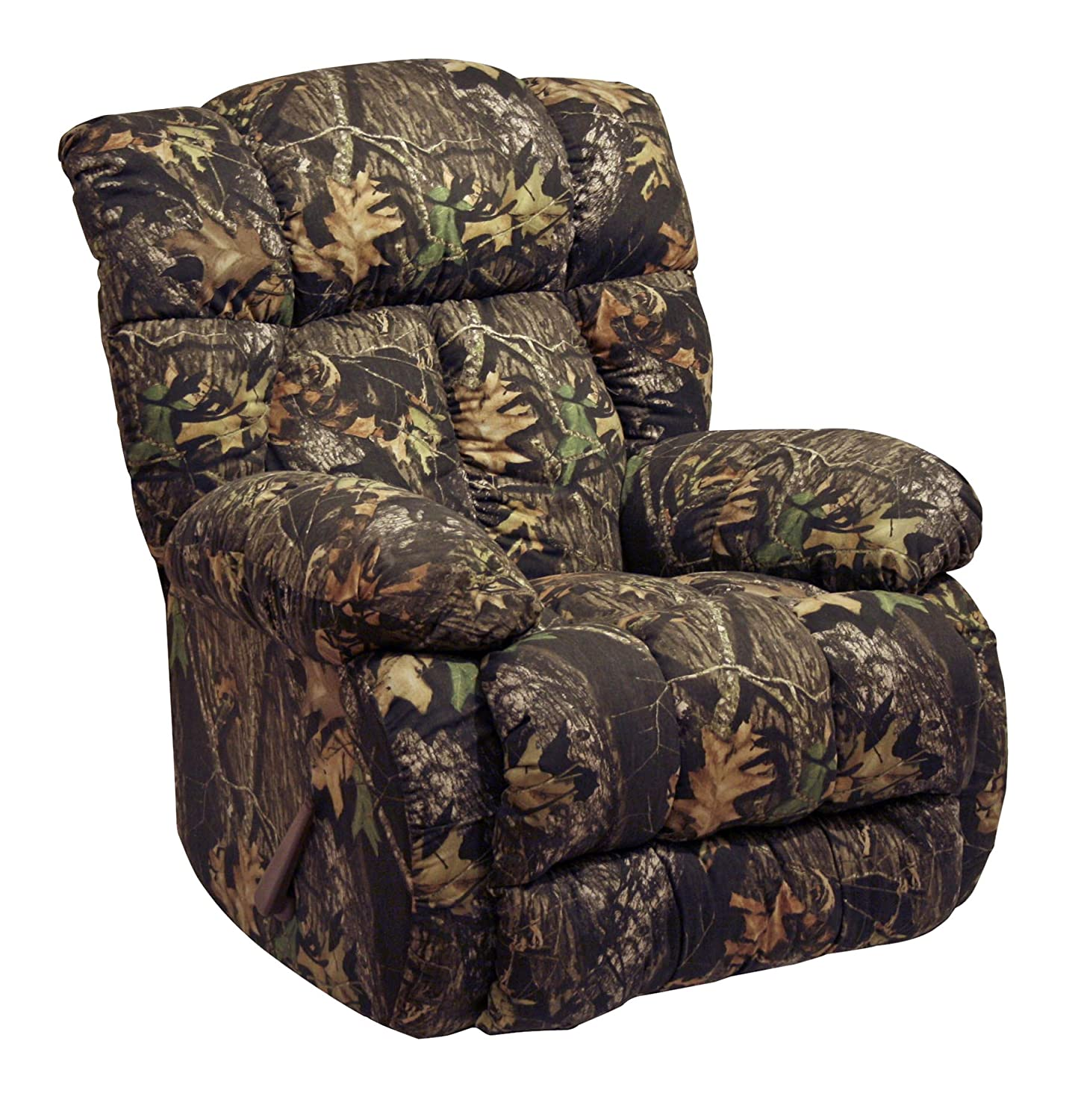 amazoncom catnapper loredo mossy oak camouflage chaise rocker recliner kitchen u0026 dining