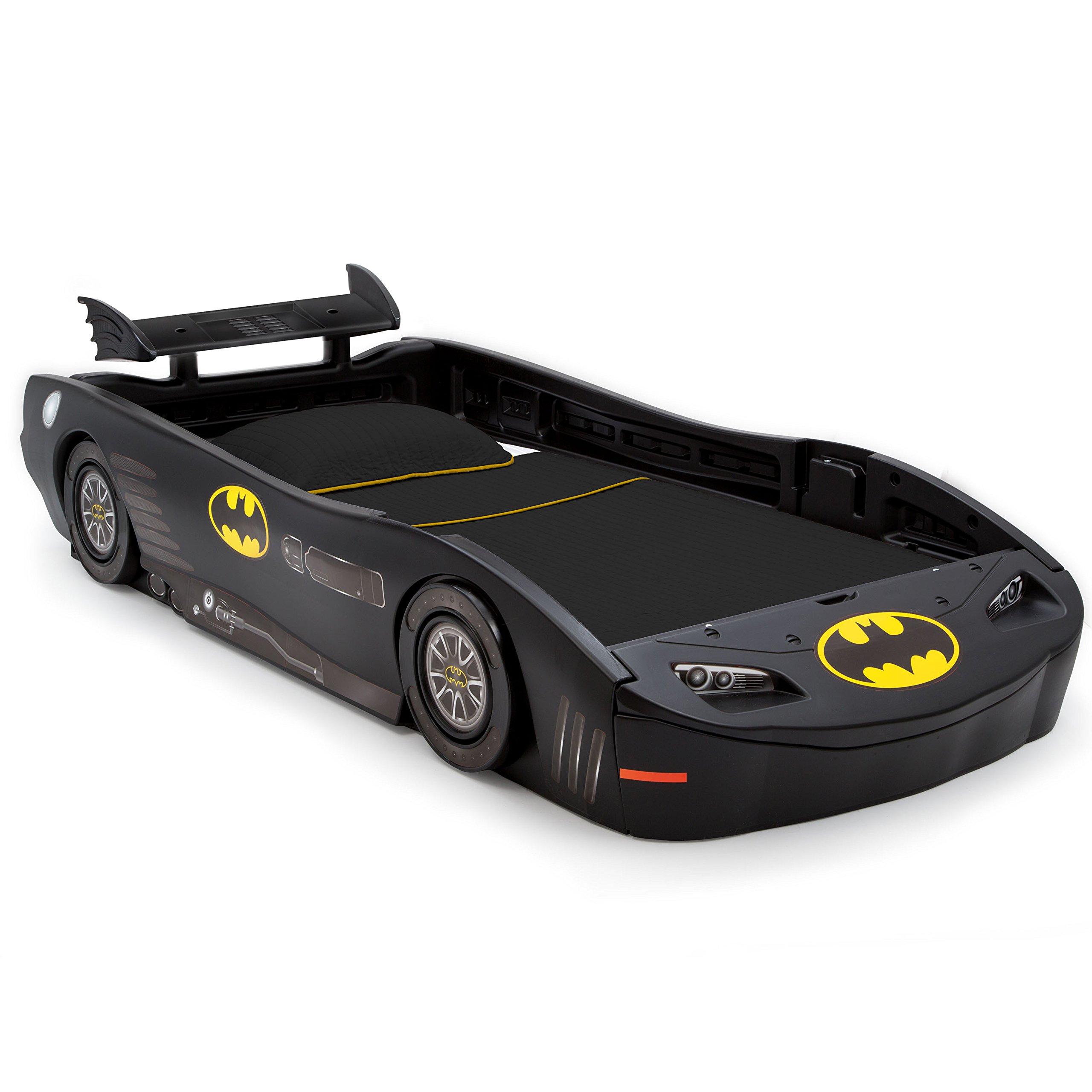DC Comics Batman Batmobile Car Twin Bed by Delta Children by Delta Children