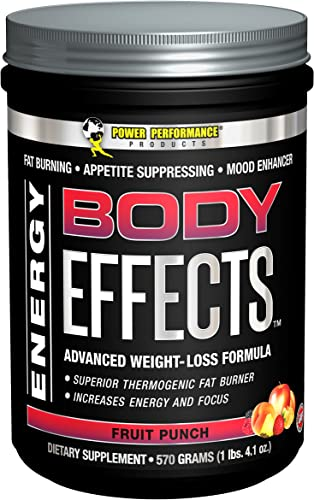 Power Performance Products, Body Effects, Pre Workout Supplement – 570 Grams Fruit Punch