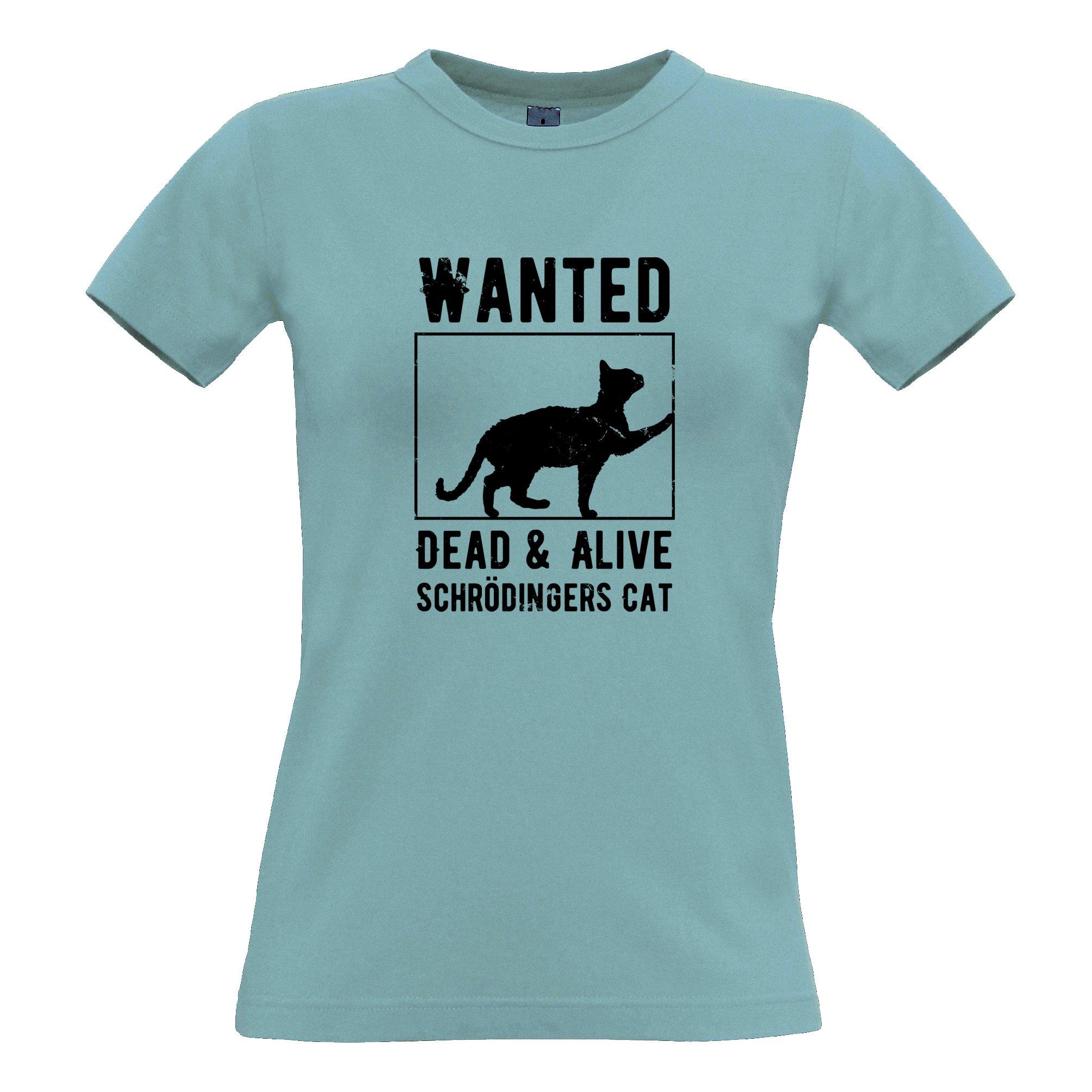 Novelty Nerd Tee Wanted Schr Dinger S Cat Joke 8731 Shirts