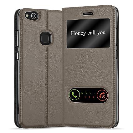 Amazon.com: Cadorabo Case Funciona con Huawei P10 LITE Funda ...