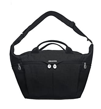 Simple Parenting Doona All Day Night Car Diaper Bag Black