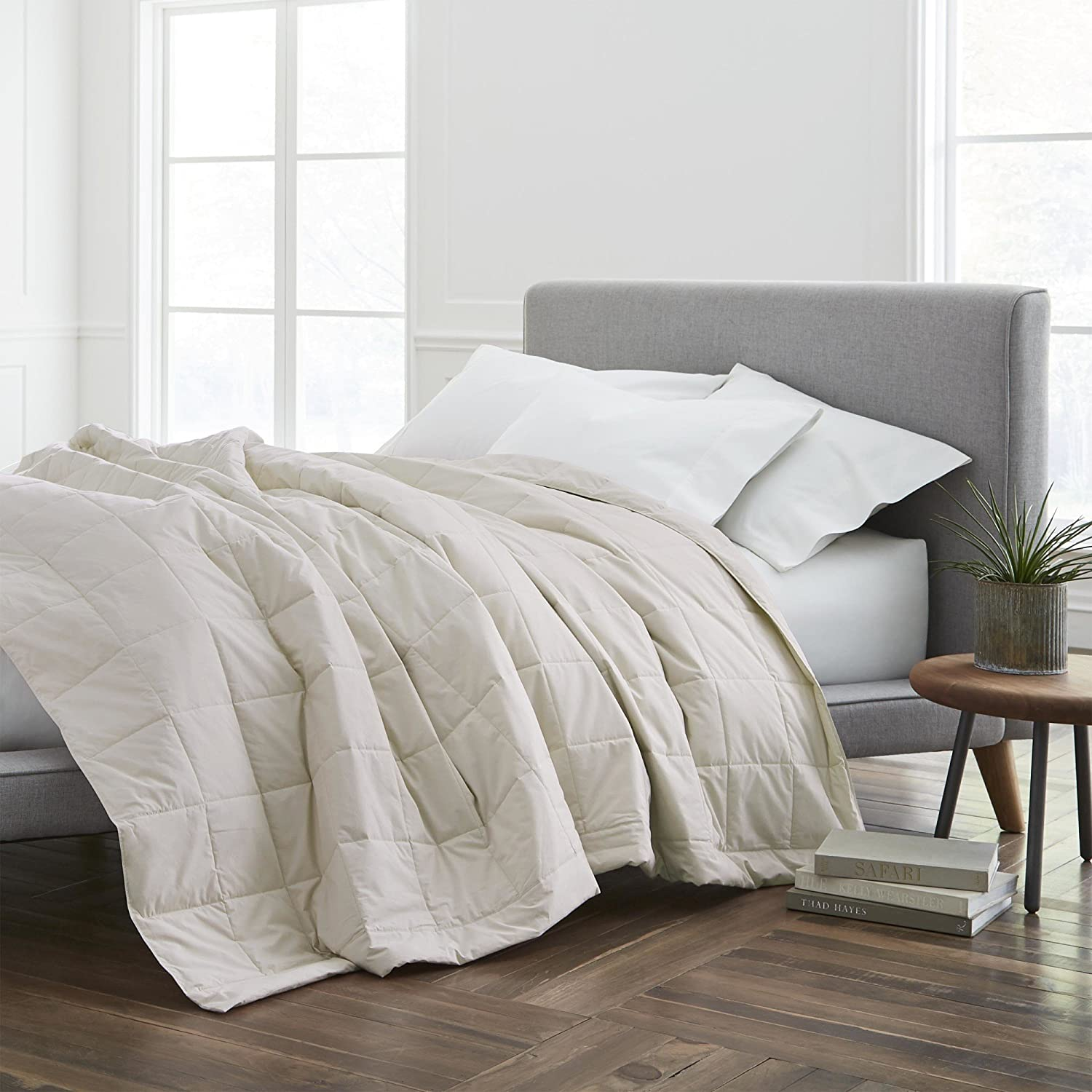 ECO PURE Filled Blanket, Full/Queen, Cream