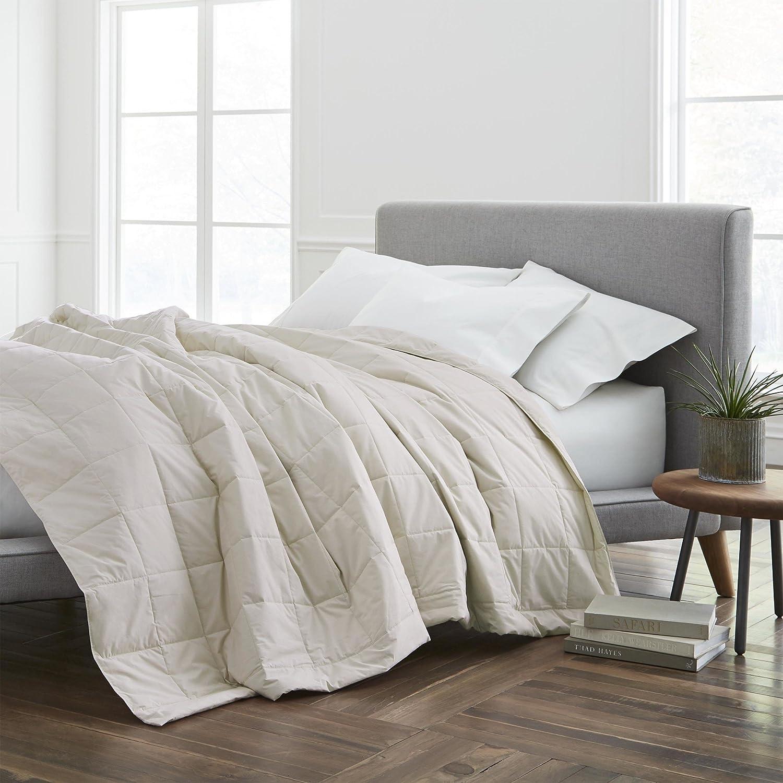 ECO PURE Filled Blanket, Full/Queen, Cream