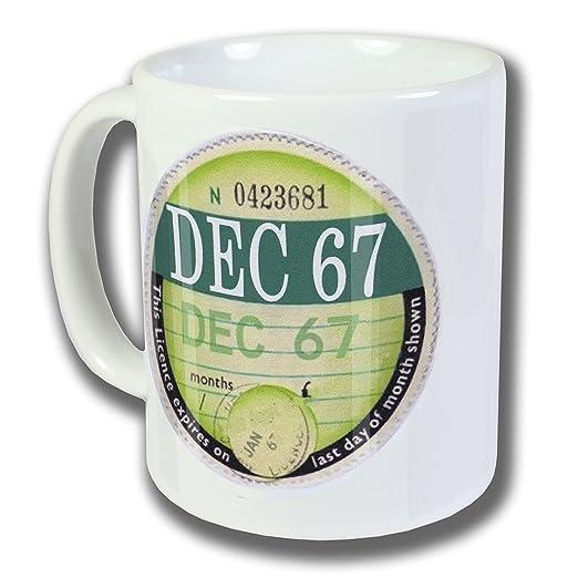 Diciembre 1967 peaje disco taza, caja - 48th regalo de ...