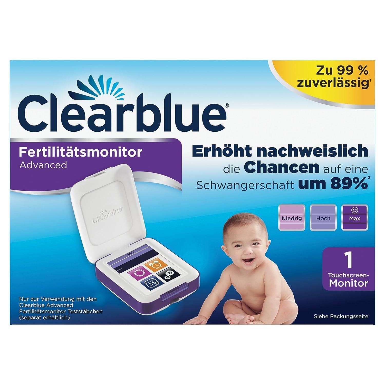 Clearblue - Monitor de fertilidad, 1 pieza: Amazon.es: Salud y cuidado personal