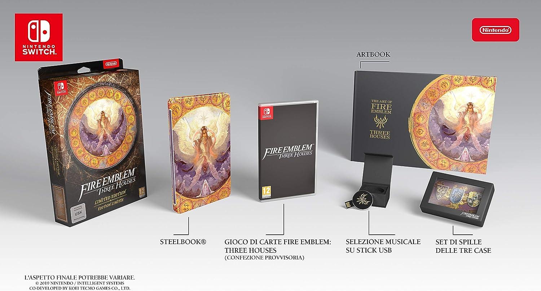 Fire Emblem: Three Houses (Collectors Edition) - Limited - Nintendo Switch [Importación italiana]: Amazon.es: Videojuegos