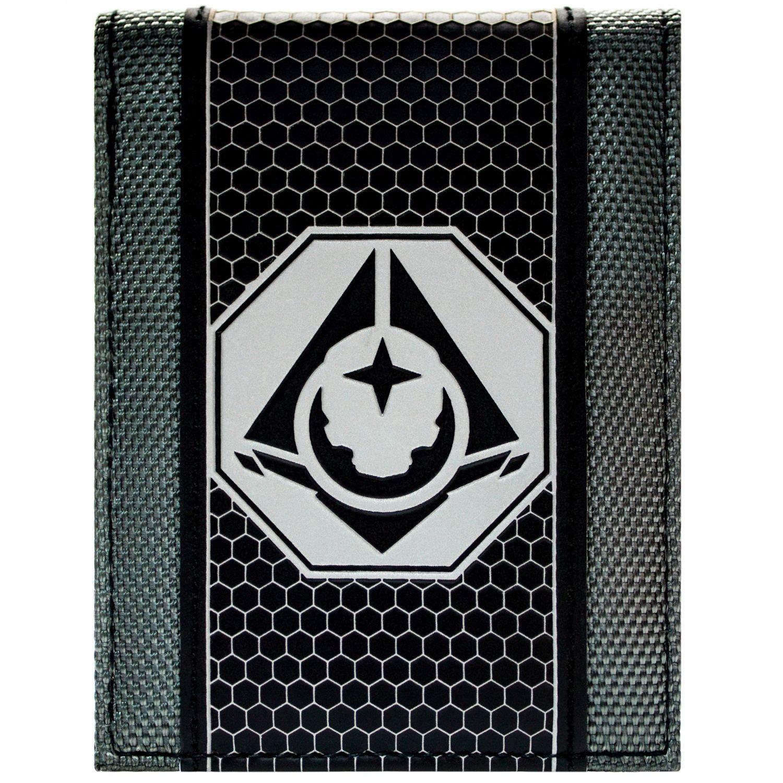 Awesome Halo 5 Guardians Black Symbol Bi-Fold Wallet