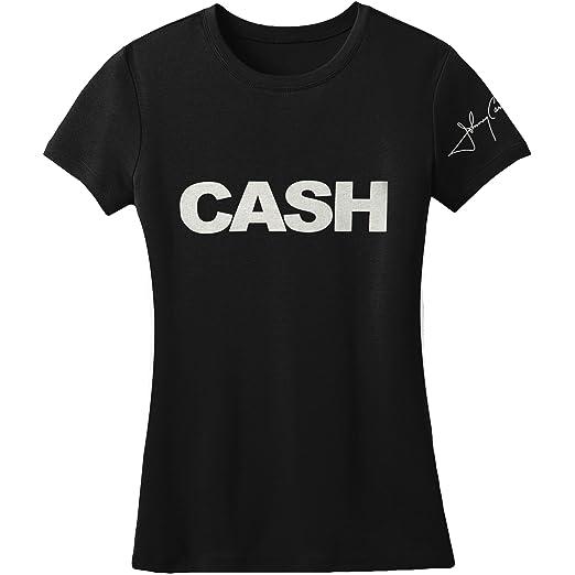 4368996d0 Amazon.com: Johnny Cash Cash Block Girls Jr Black: Clothing