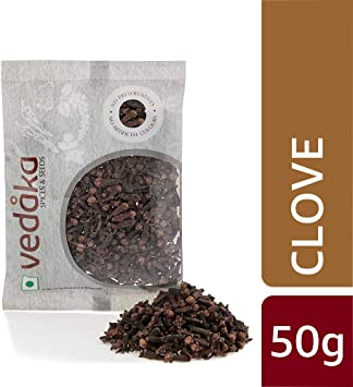 Amazon Brand - Vedaka Clove (Laung), 50g