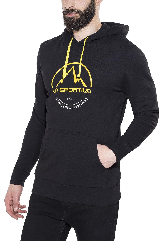 La Sportiva Logo Hoody Felpa con Cappuccio, Uomo 01QBK