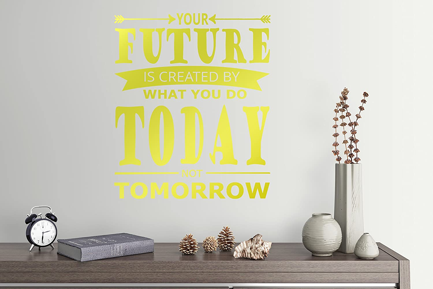 Amazon Com 27 X24 Your Future Is Created By What You Do Today