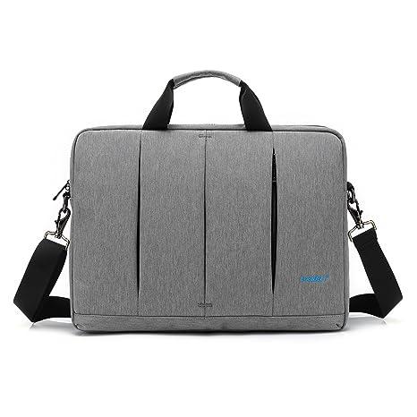d55d6d366c36 CoolBELL 15.6 inch Laptop Bag Messenger Bag Slim Briefcase Water-resistant  Oxford Nylon Shoulder Bag
