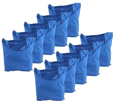 Funda de algodón 1er 5 10 Pack yute Bolsa unbedruckt para ...