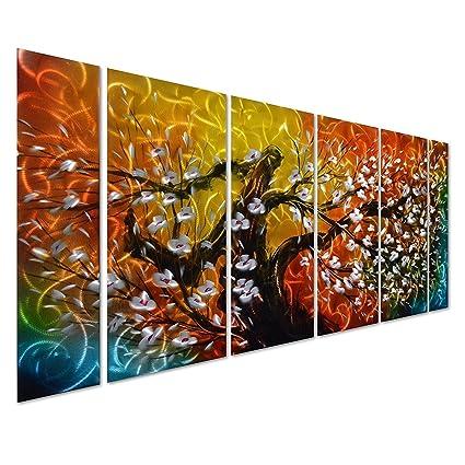 Amazoncom Pure Art Gigantic Tree Of Life Metal Wall Art Decor