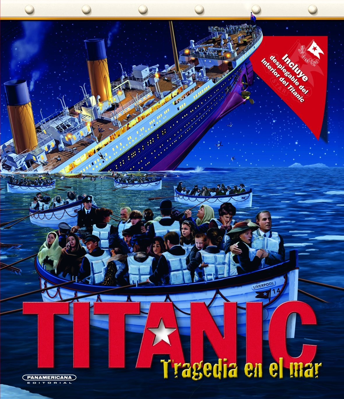 Titanic: tragedia en el mar (Spanish Edition) (Spanish) Hardcover –  February 24, 2012