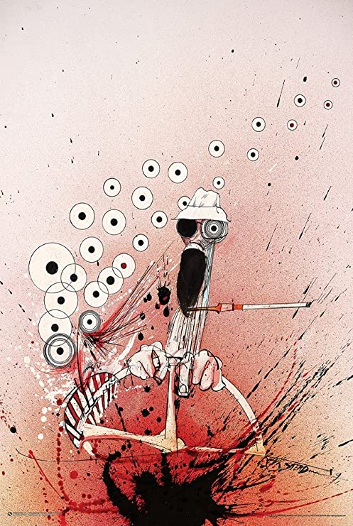 Amazon.com: Hunter Ralph Steadman – Póster de conducción Hunter S ...