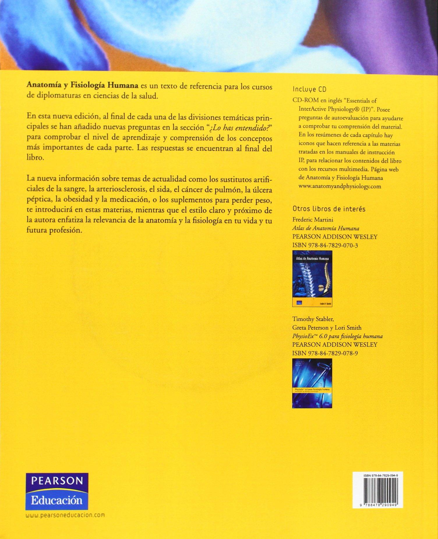 Anatomía y fisiología humana: Amazon.es: Elaine N. Marieb: Libros