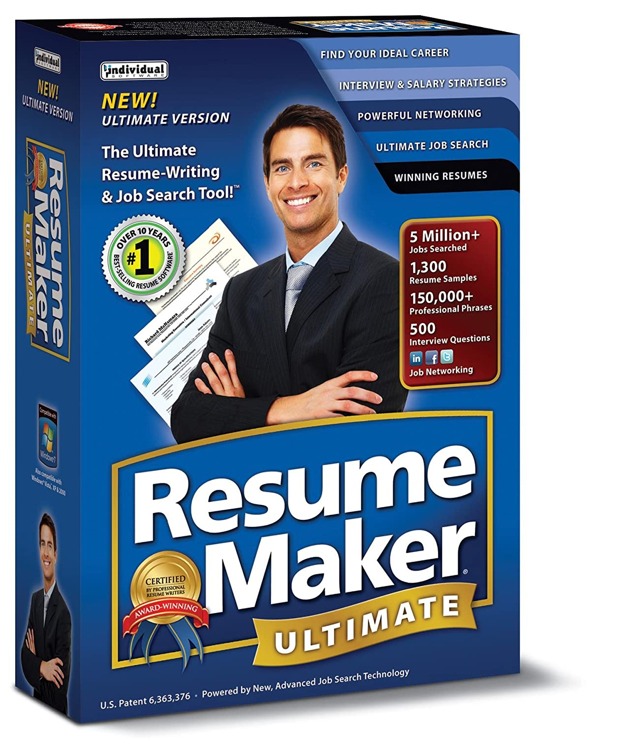 amazoncom resumemaker ultimate 5 - Individual Software Resume Maker