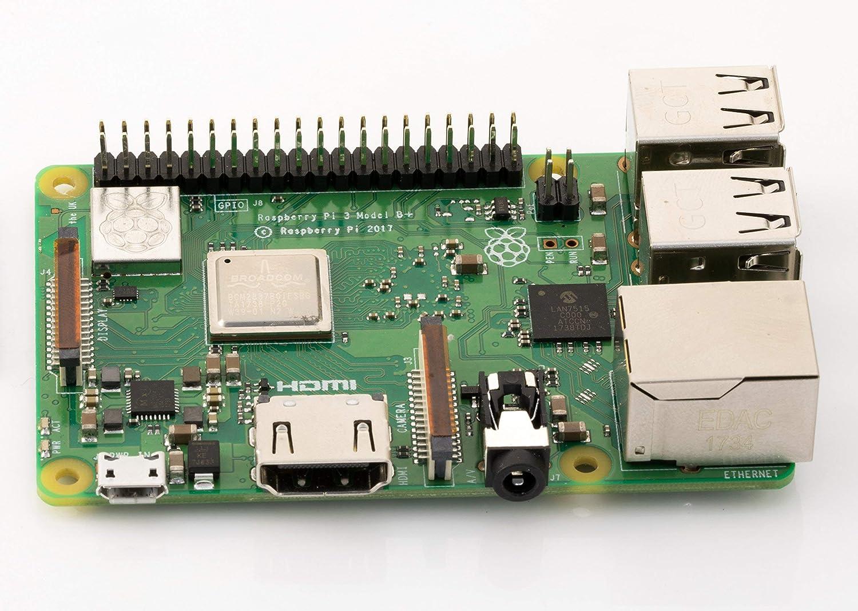 Amazon.com: Element14 Raspberry Pi 3 B+ - Placa base ...