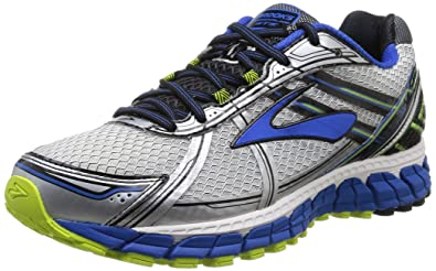 4fa0ff00b48 Image Unavailable. Image not available for. Colour  Brooks Men s Adrenaline  GTS 15 White Olympic Lime Punch Athletic Shoe