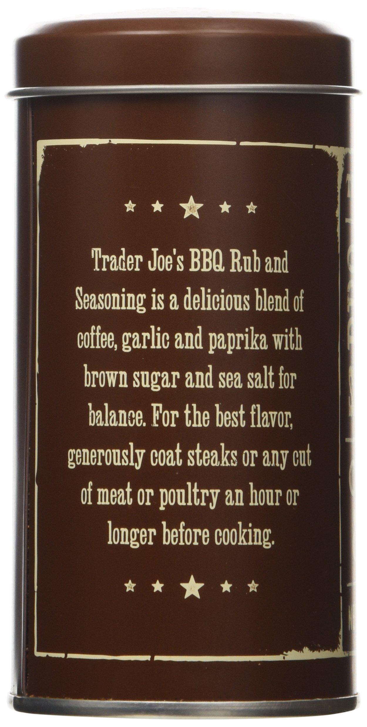 Trader Joe's BBQ Rub and Seasoning with Coffee & Garlic (Pack of 2) by Trader Joe's (Image #4)