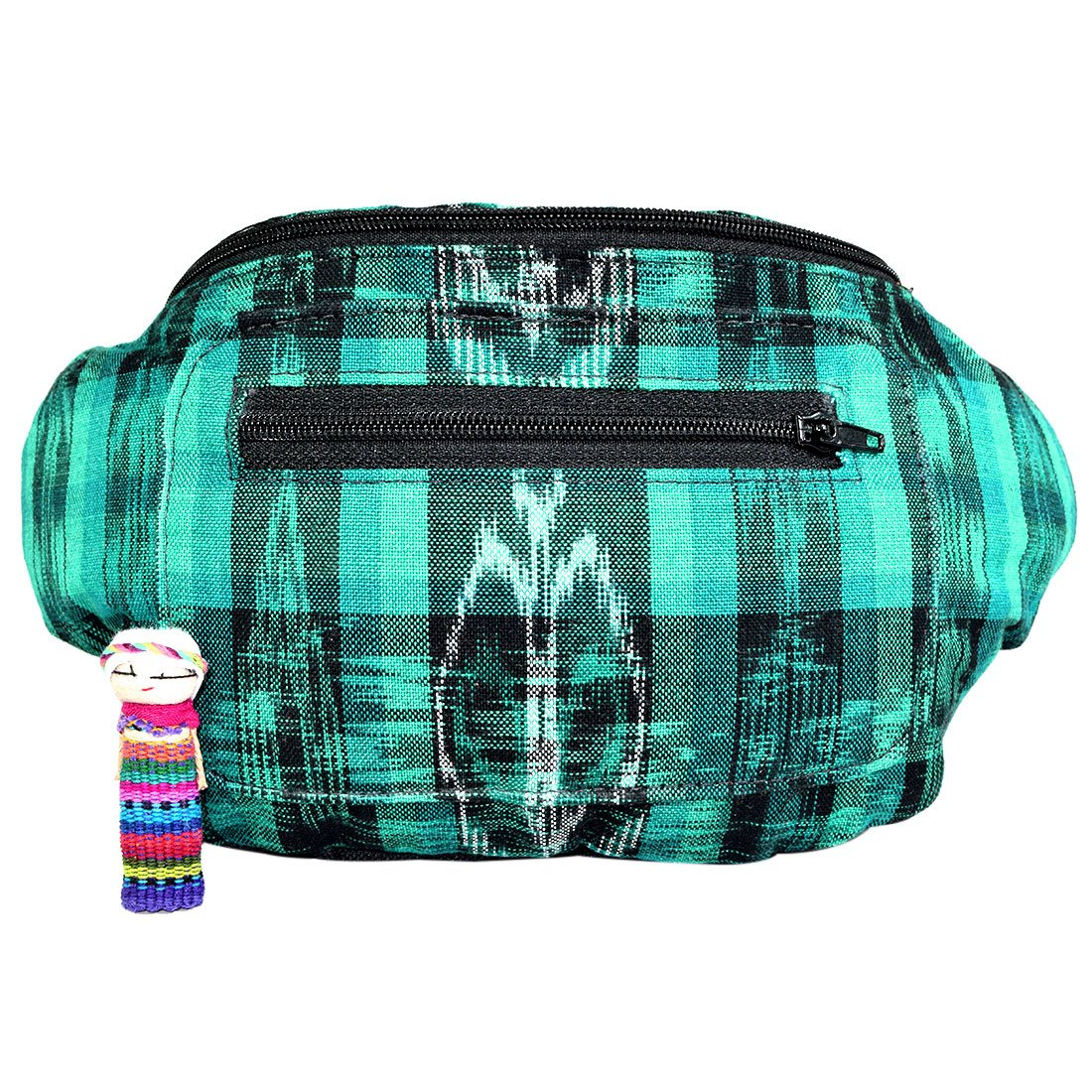 T/ípico Tropical Native Tribal Fanny Pack Eco Woven /& Handmade in Guatemala Boho Chic