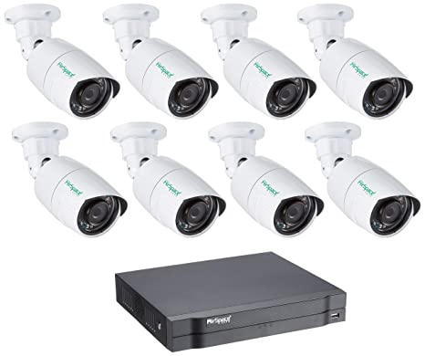 HD Dahua – Kit de Video vigilancia con 8 Cámaras Exteriores 720P – Kit – dvr