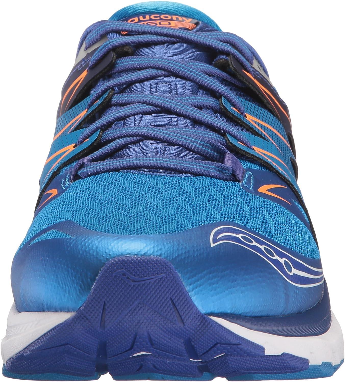 Saucony Herren Zealot Iso 2 Laufschuhe, blau Blau Orange