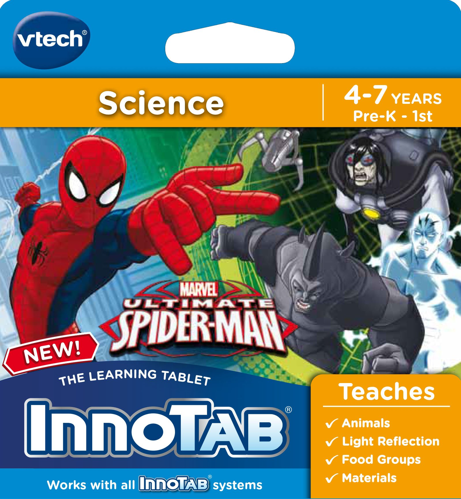 VTech InnoTab Software, Ultimate Spiderman by VTech