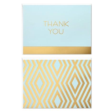 Amazon.com: Tarjeta de notas de agradecimiento Hallmark (en ...