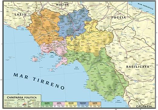 Cartina Geografica Sicilia Politica.Superficial Proprietar Masa Finala Cartina Della Campania Fisica Amazon Mariacastrojato Com