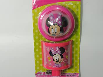 Amazon.com: Disney Minnie Mouse Tap Luz y Luz Nocturna: Baby