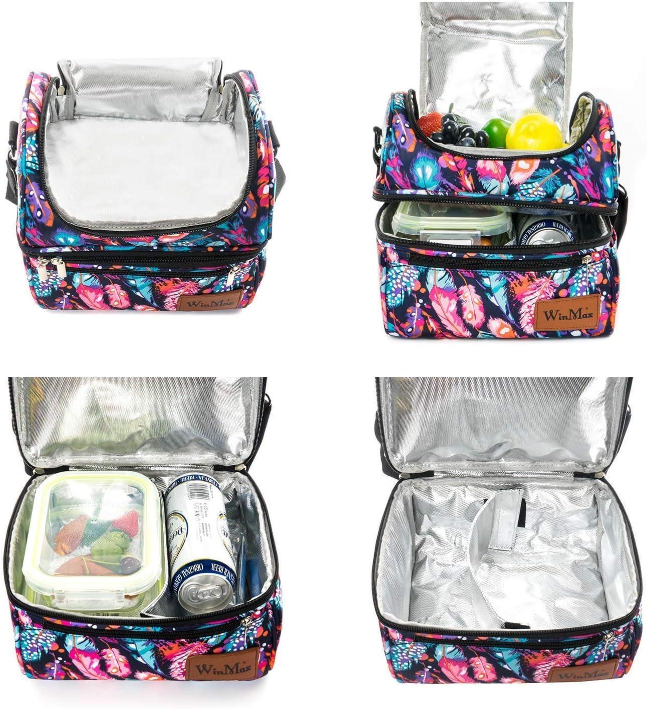 Bolsa de almuerzo aislante con diseño Winmax para mujer