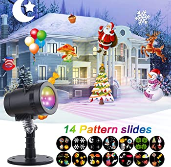 YMing Waterproof Snowflake LED Projector Lights