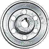 Polea 160 x 24 mm eje para compresor motor: Amazon.es: Bricolaje y ...
