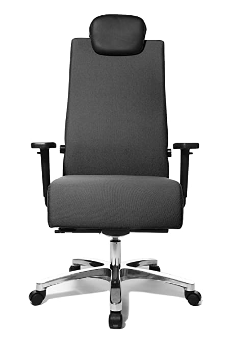TOP STAR Topstar Big Star Heavy Duty Swivel Chair For Capacity Up To 150kg    Grey