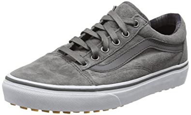 Unisex-Erwachsene Old Skool MTE Low-Top, Schwarz (MTE Black/Tweed), 44.5 EU Vans