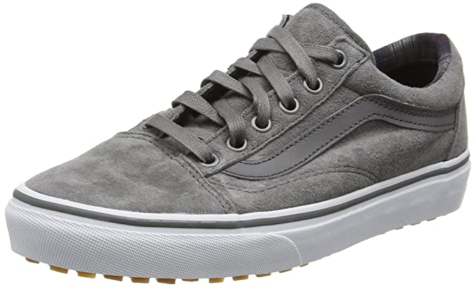 Vans Unisex-Erwachsene Old Skool MTE Low-Top, Grau (MTE Pewter/Plaid), 40.5 EU
