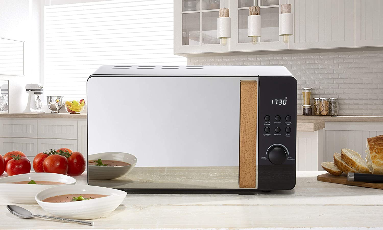 Daewoo Skandik Digital Microwave Oven Beep Indicator 20l